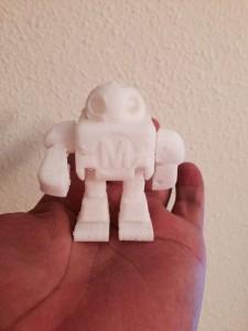 Robot impreso con la Prusa I3 Steel