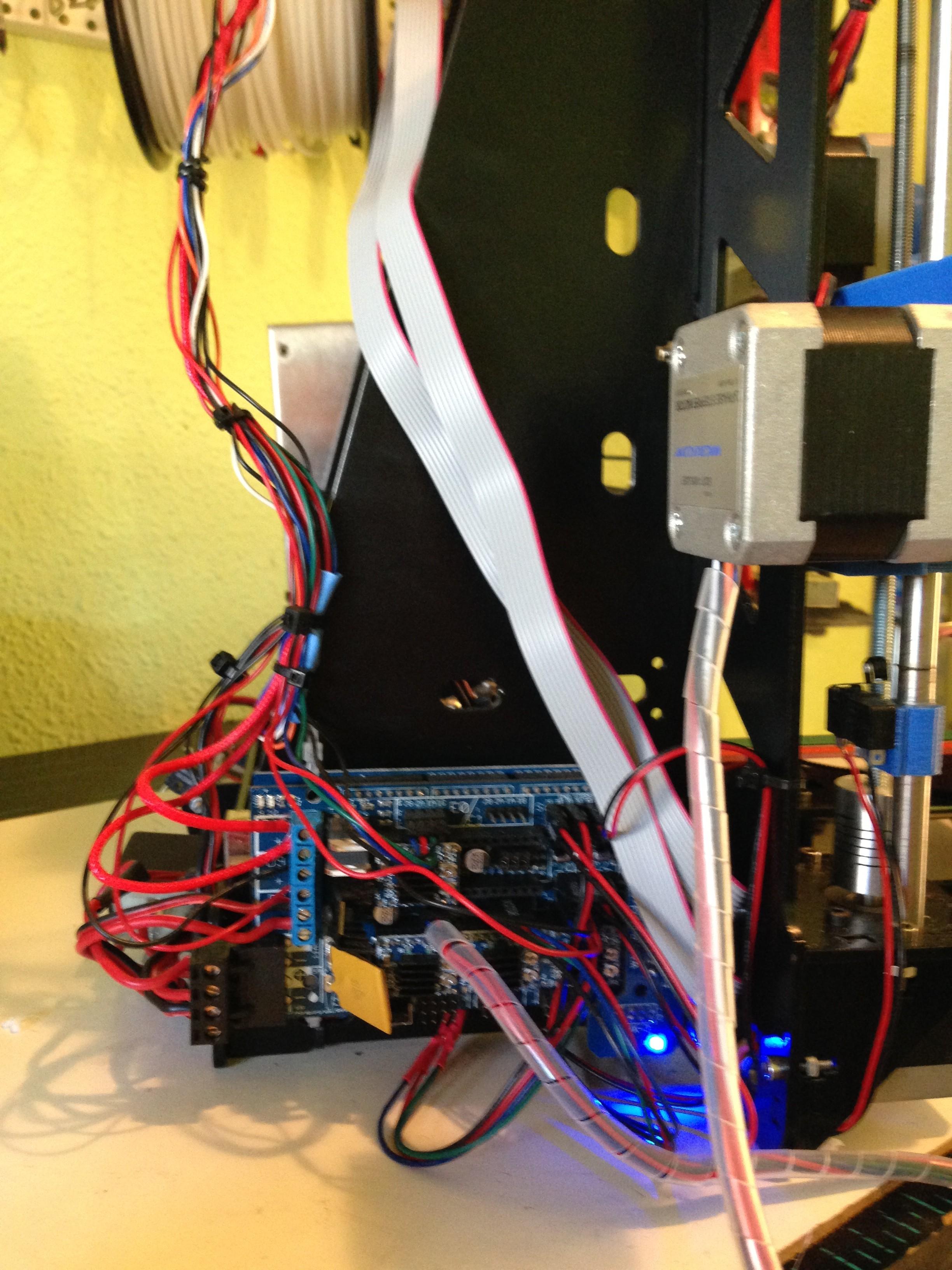 Arduino + RAMPS conectados